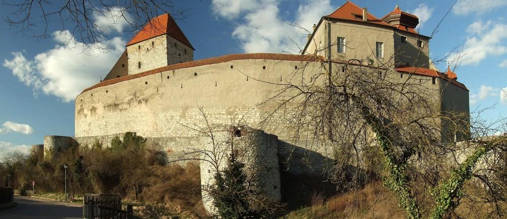 Ort und Burg Harburg, Wallenstein