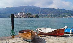 Orta San Giulio am Lago d` Orta