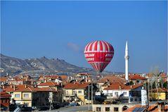 Ortahisar in Kappadokien/Türkei