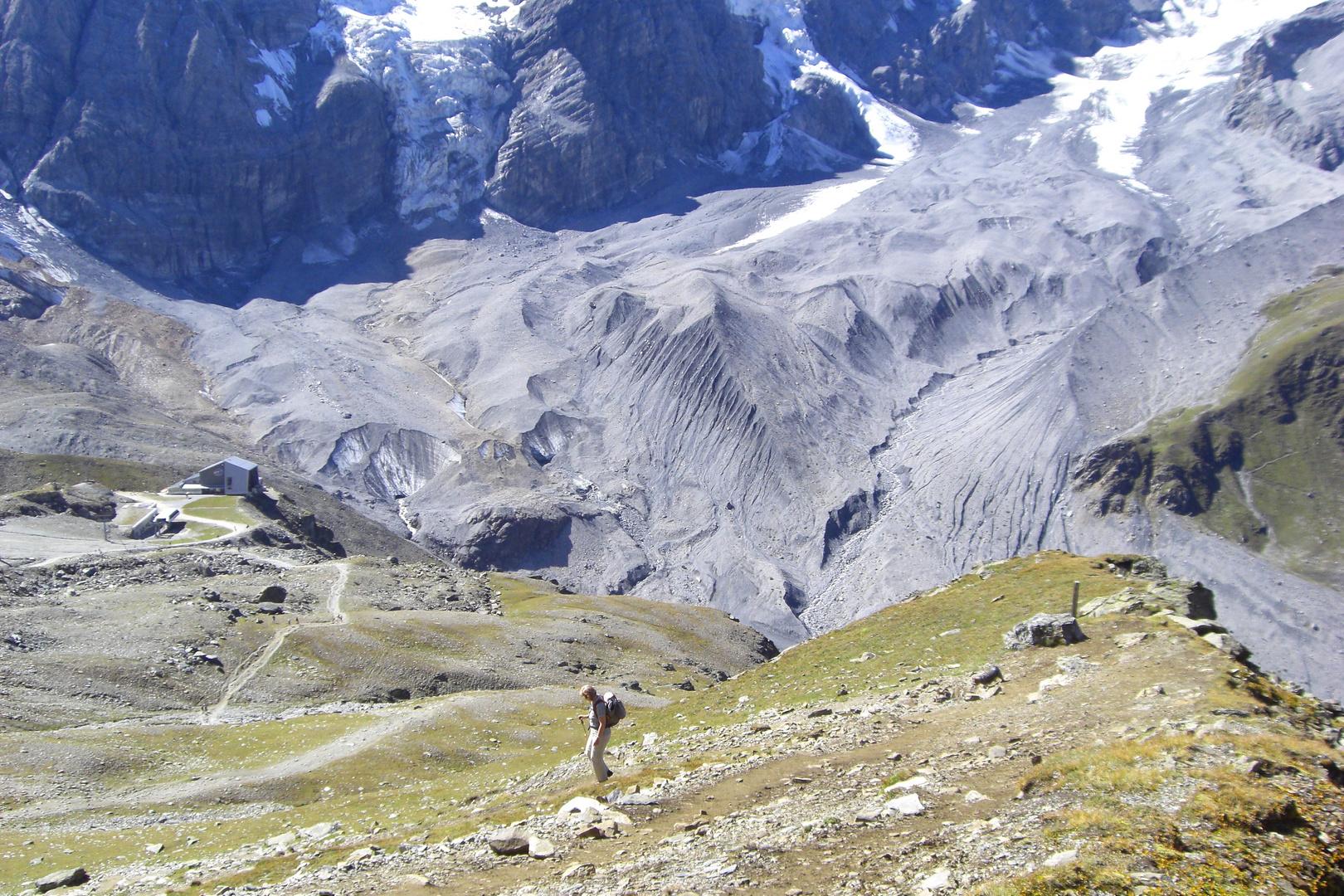 Gletscher Italien