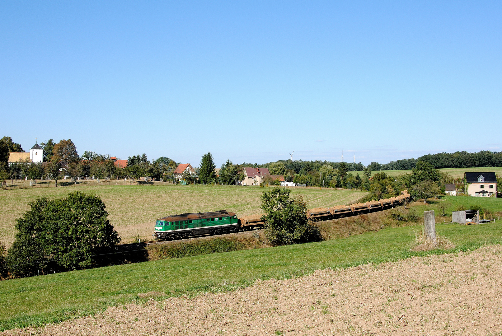 Ortsblick Frankenau