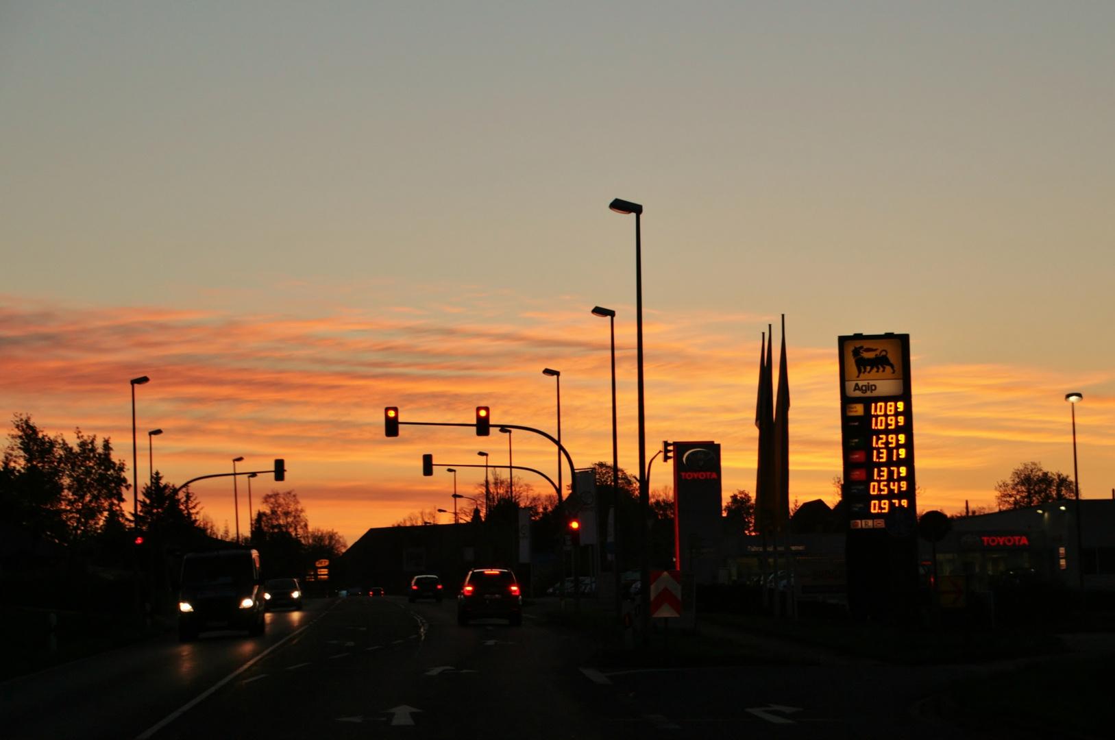 Ortseinfahrt Halberstadt