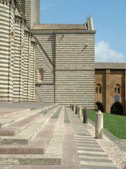 Orvieto Dom 2 Südseite