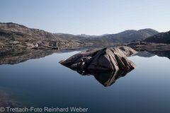 Osafjell - Spiegelung
