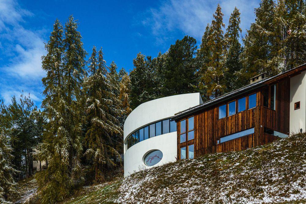 Oscar-Niemeyer-Haus in Sankt Moritz
