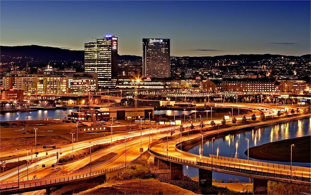 Oslo at Night - Norwegen VIII