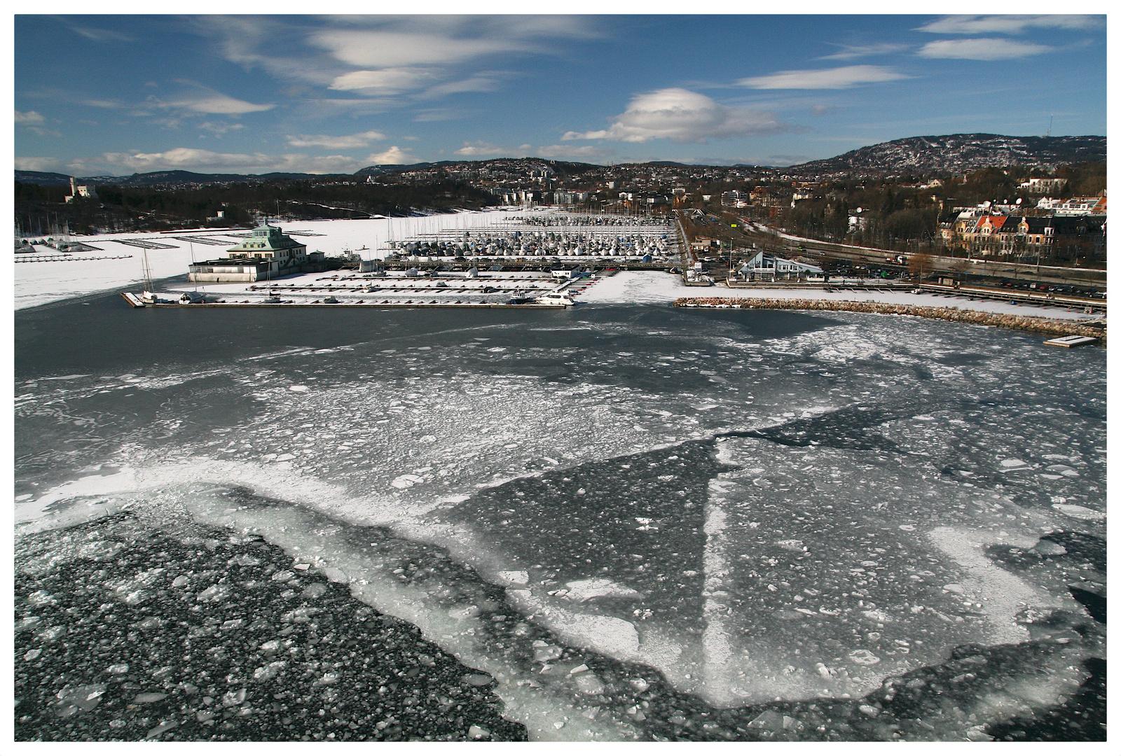 Oslo in Eis