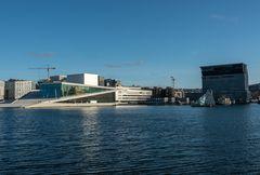Oslo_Opera und neues Munch-Museum ( Lambda )