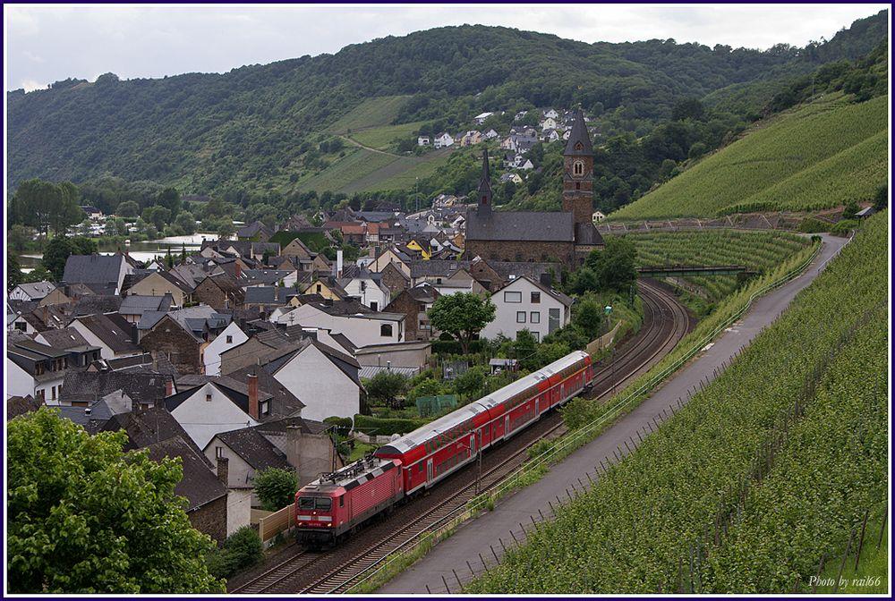 Ossi in Hatzenport Foto & Bild | züge, personenzüge