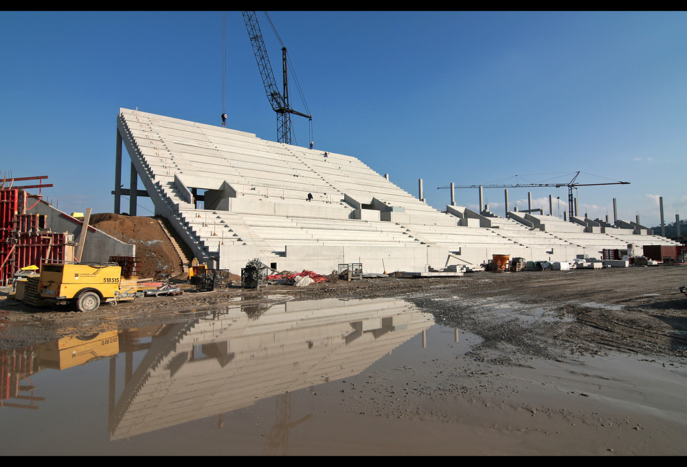 Ost-Tribüne TSG Arena