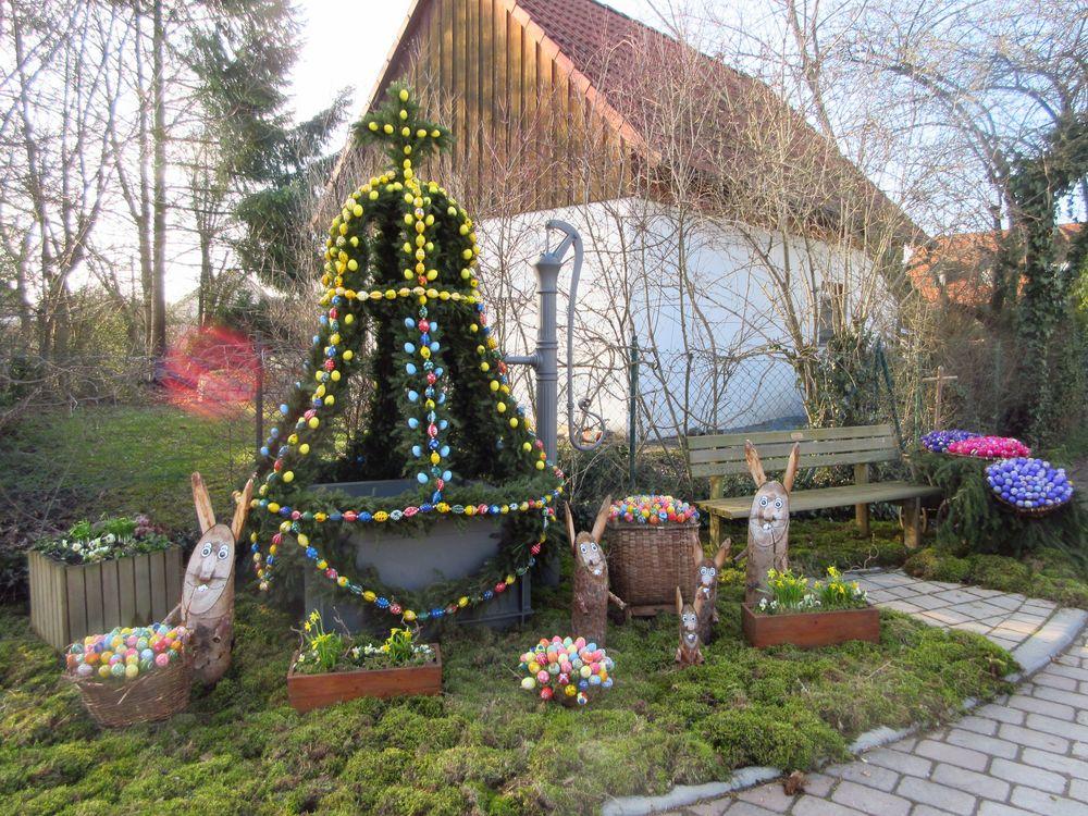 Osterbrunnen in Brunnau