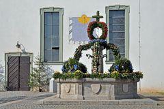 Osterbrunnen in Burghaslach