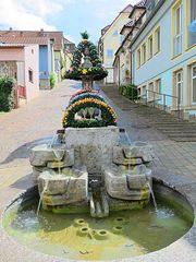 Osterbrunnenansicht