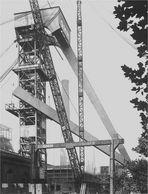 Osterfeld Schacht 3 im Aufbau