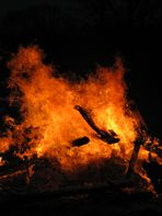 Osterfeuer...