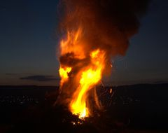 Osterfeuer....