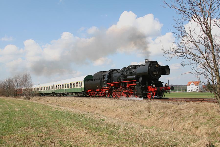 Ostergrüße von der Zellwaldbahn