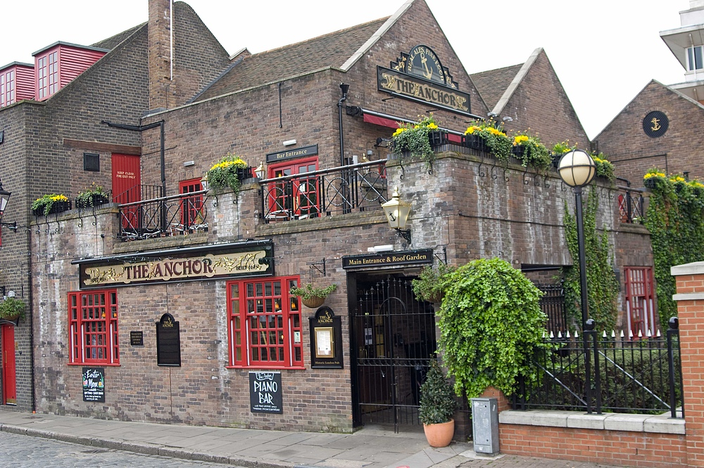 Ostern 2009 in London --> Ein Pub [Bild 06]