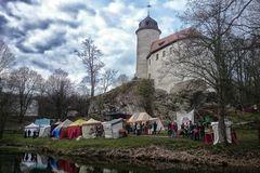 Ostern auf der Burg Rabenstein....