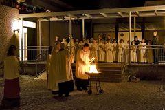 Osternacht 2008 Pfarrei Hl. Geist Regensburg