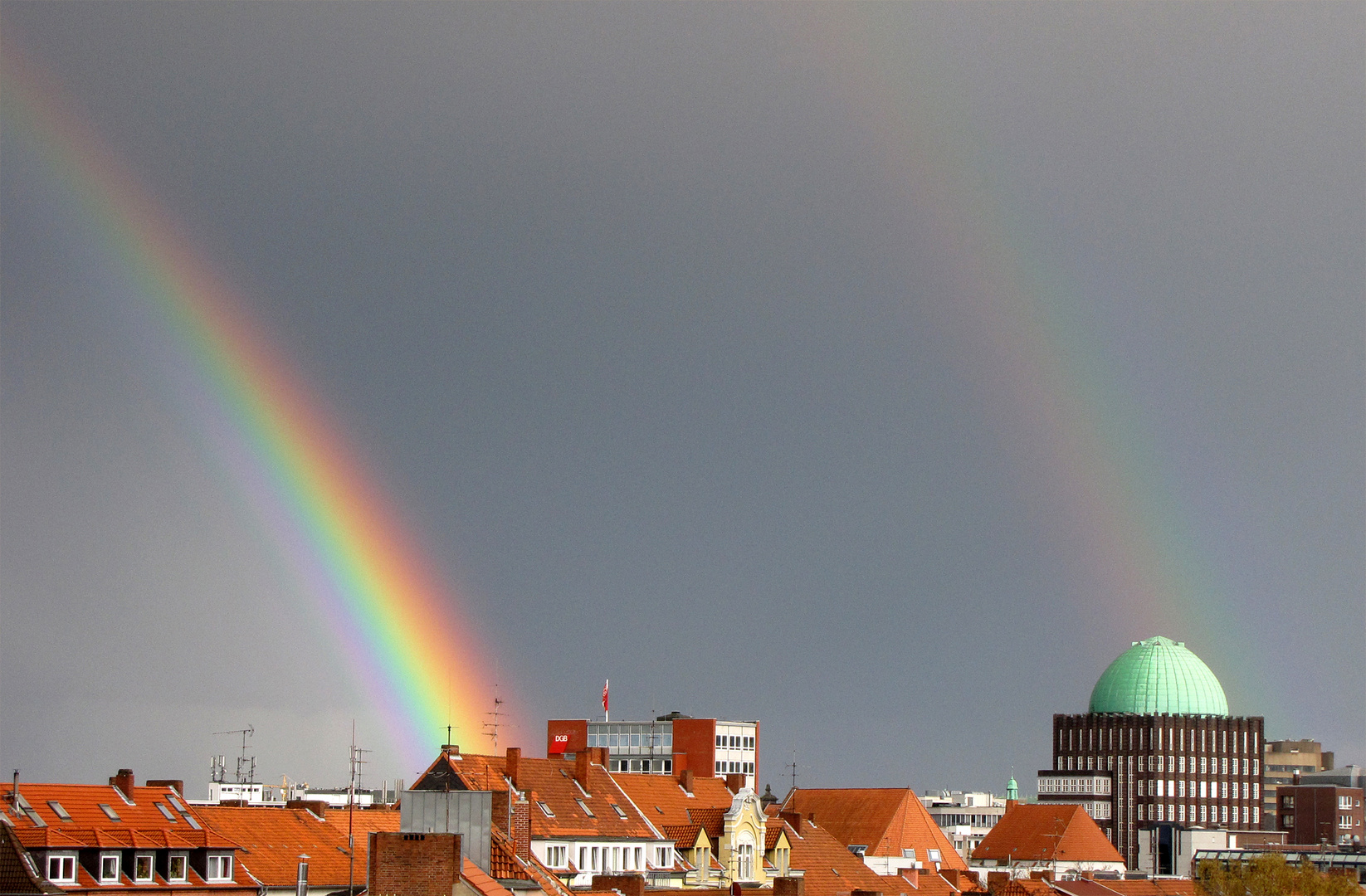 Ostersonntag in Hannover, Aprilwetter
