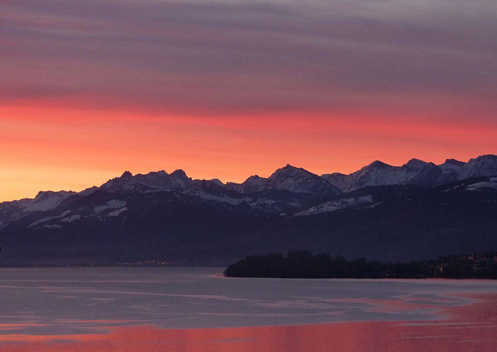 Ostersonntag vor Sonnenaufgang