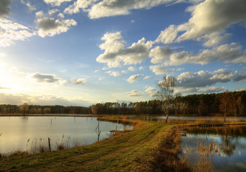 Osterspaziergang durchs Seenland