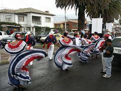 Osterumzug in Riobamba 1