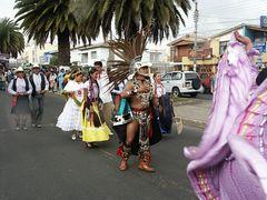 Osterumzug in Riobamba 3