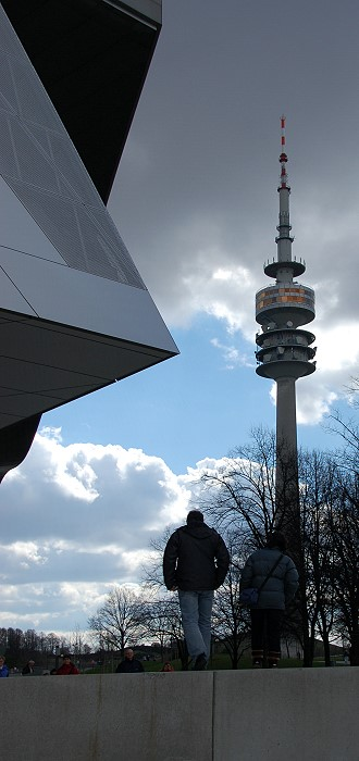 Osterwetter 2008 in München