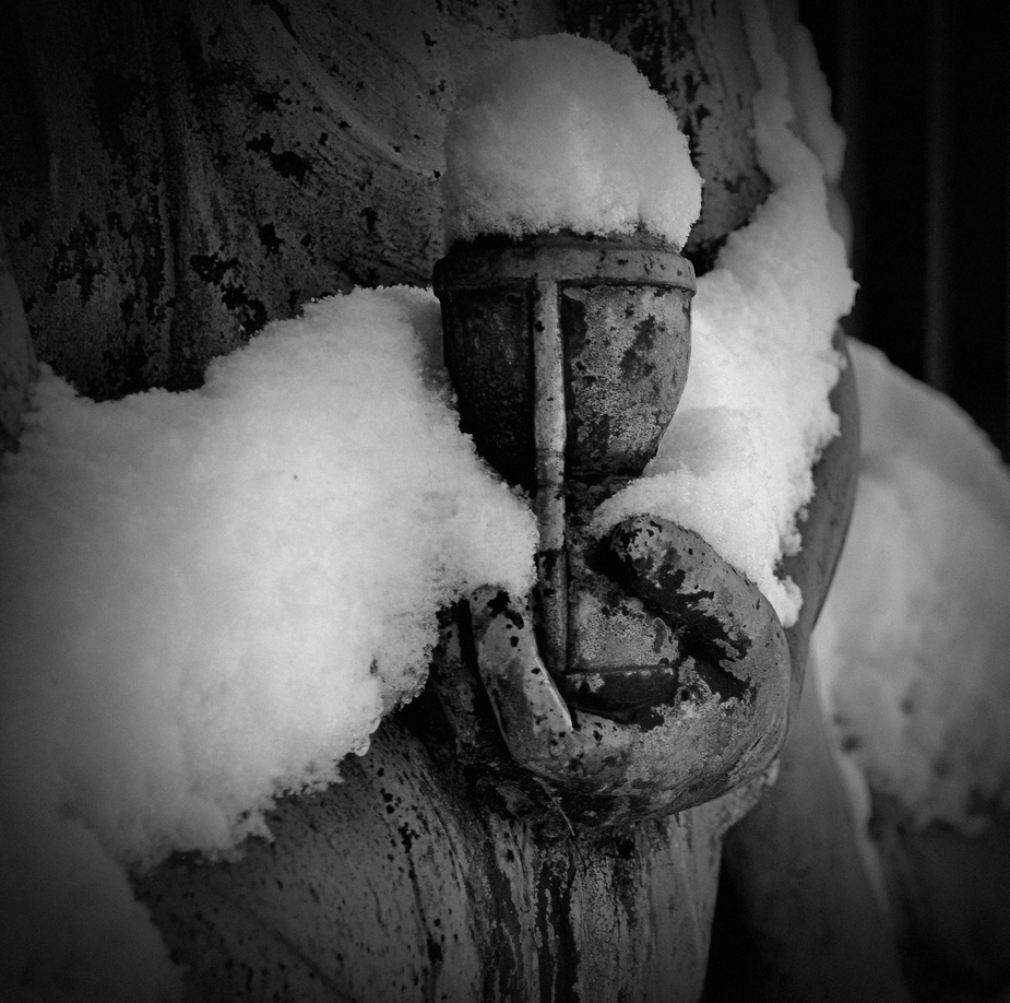 Ostfriedhof im Winter