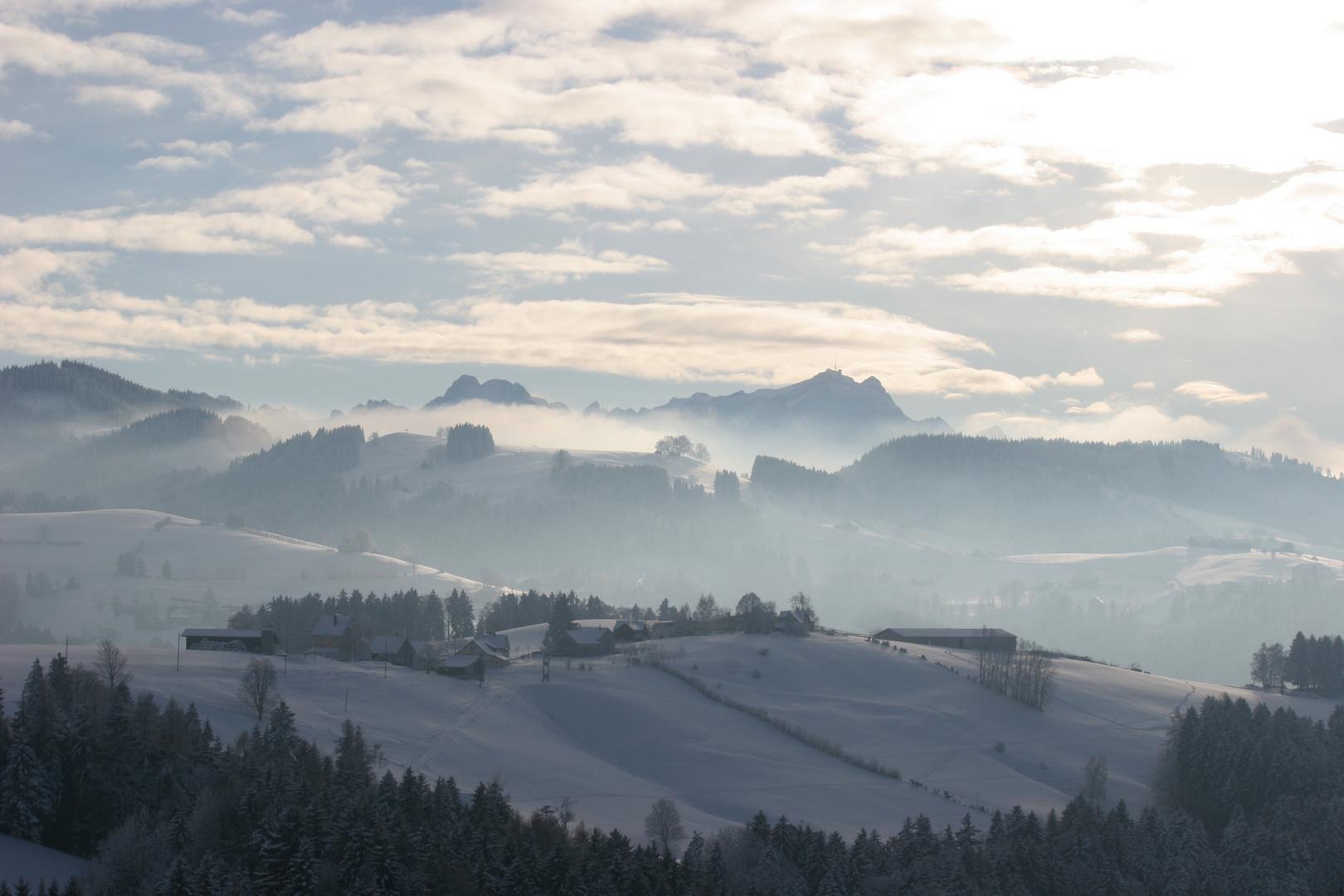 Ostschwiez im Winter
