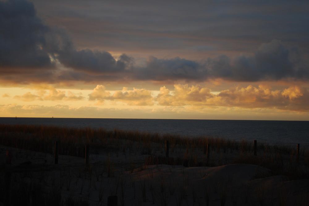Ostsee bei Sonnenuntergang