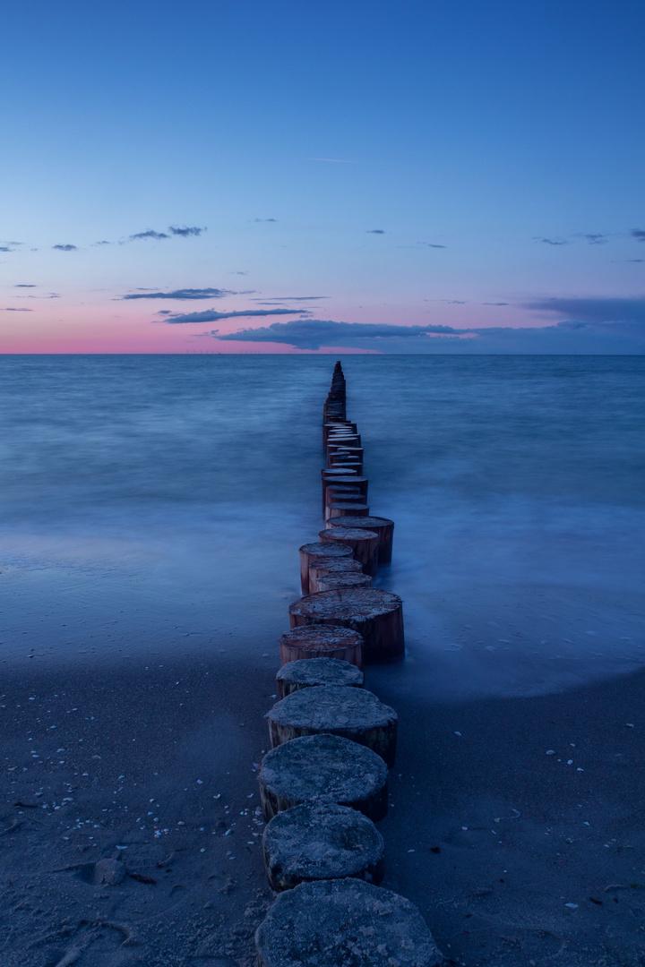 Ostsee - blaue Stunde