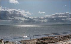 Ostsee im Gegenlicht