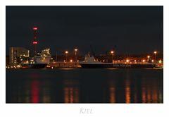 """Ostsee - Impressionen """" Kiel, in der Dämmerung...."""""""