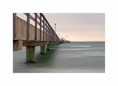 """Ostsee - Impressionen """" Seebrücke Grömitz, aus meiner Sicht....."""""""