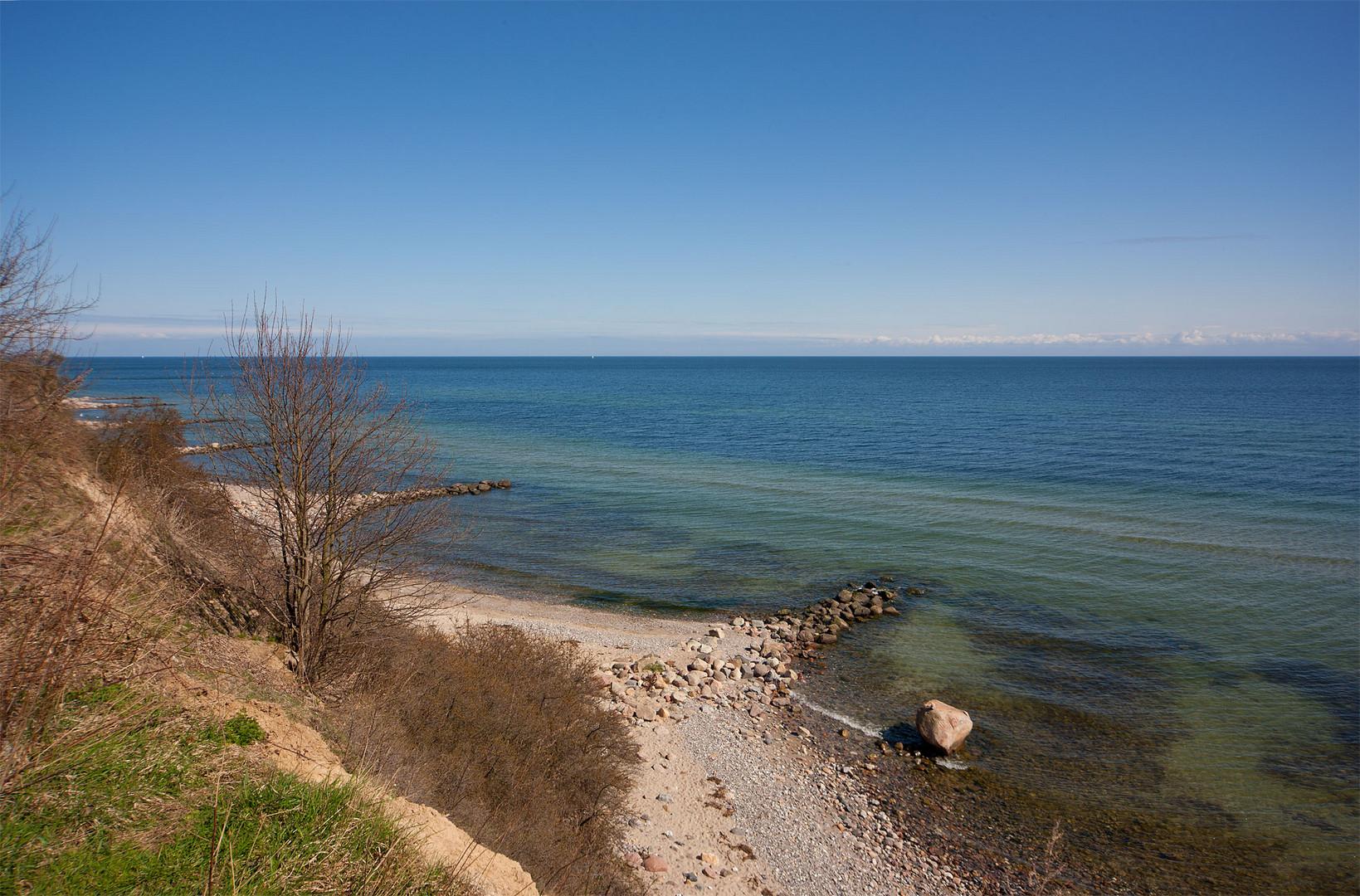 Ostsee in der Aprilsonne