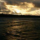 Ostsee mit Sonnenreflexionen