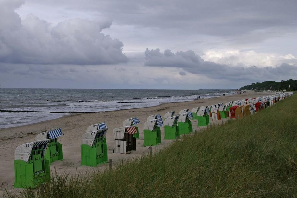 Ostseeküste in Kühlungsborn