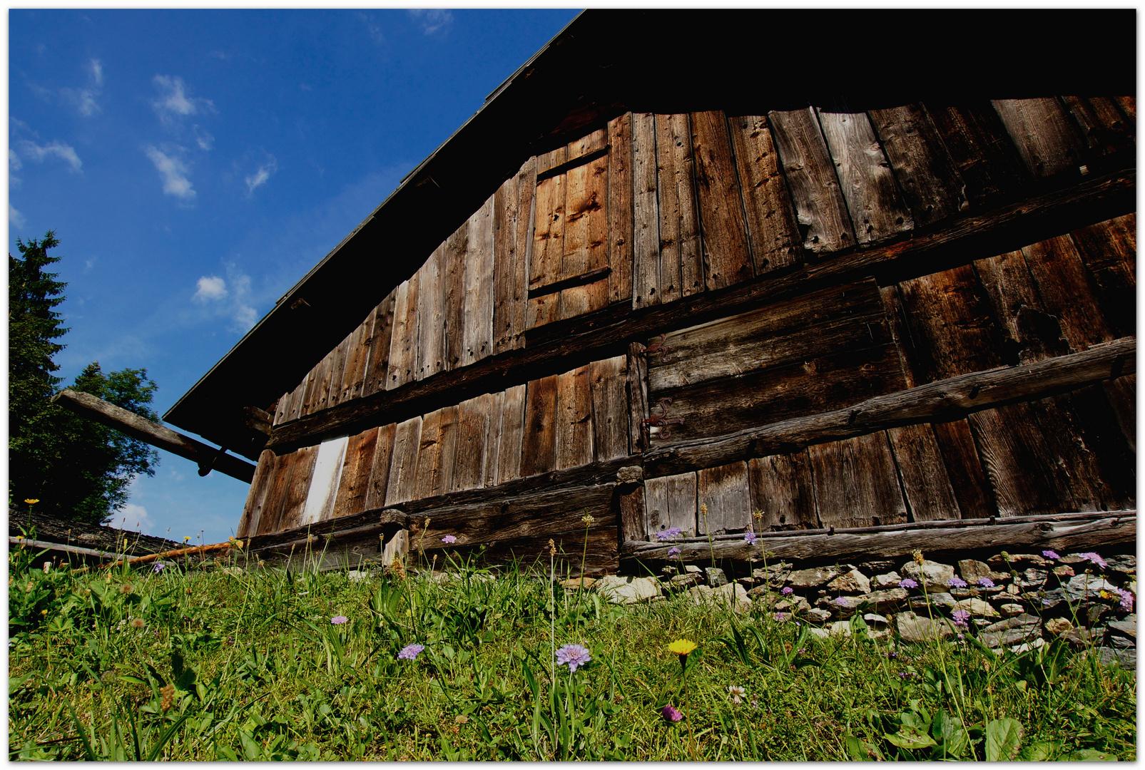 Osttiroler Holzstadel