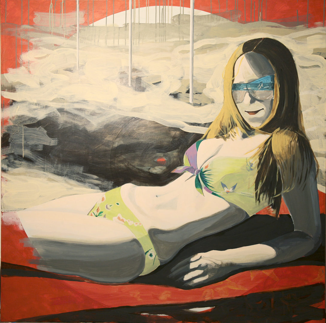 OT, 2009, Acryl auf Leinwand, 150 x 150cm