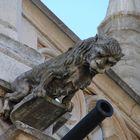 Otra gárgola en forma de león de la Catedral de Palencia