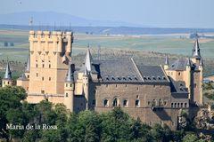 Otra panorámica del Alcázar de Segovia