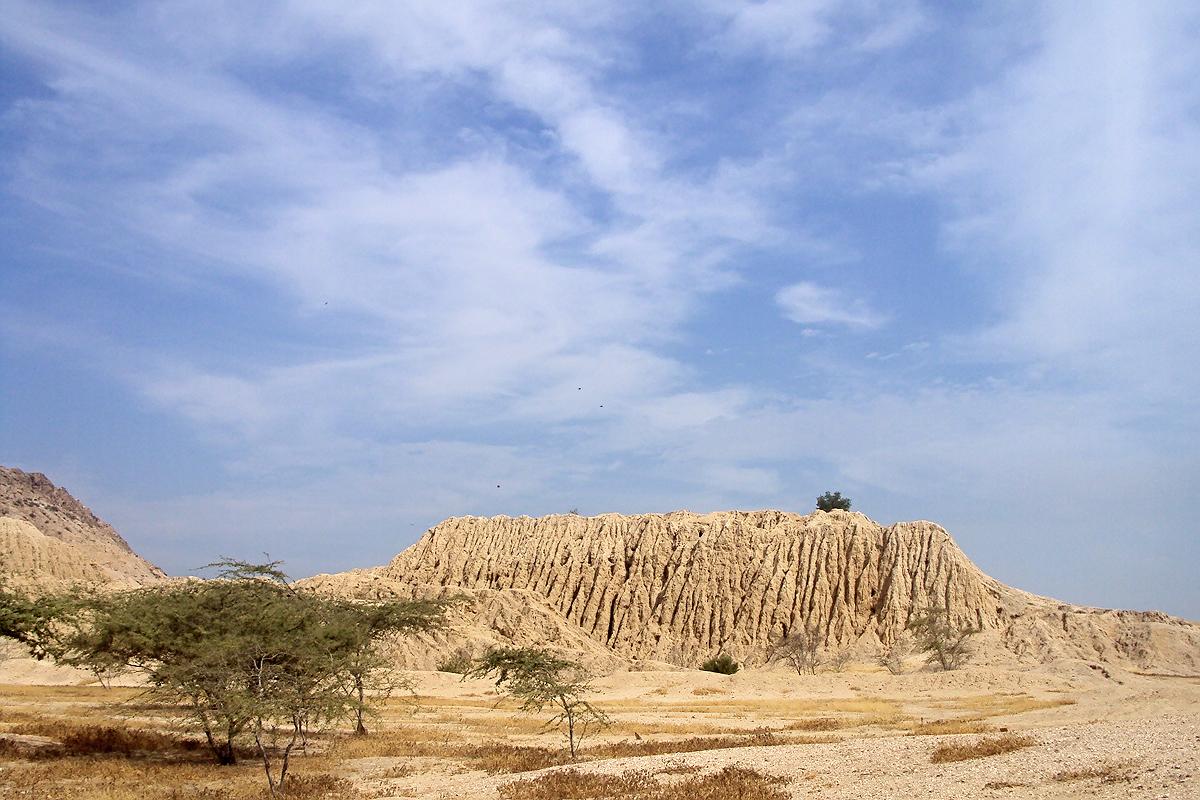 Otra pirámide de Túcume