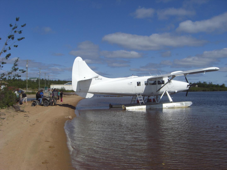 Otter Seaplane in Northern Manitoba