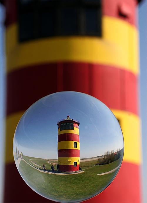 """""""OTTO""""Leuchtturm in Pilsum"""