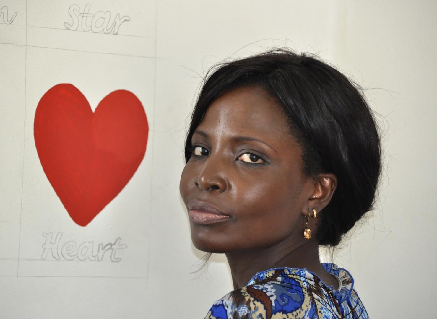 Ougandaise de Coeur