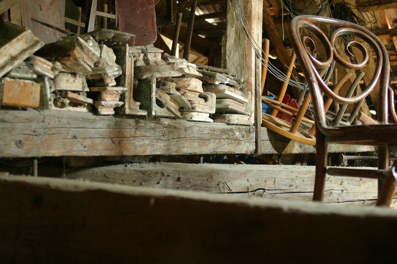 Our loft s secrets! Old house