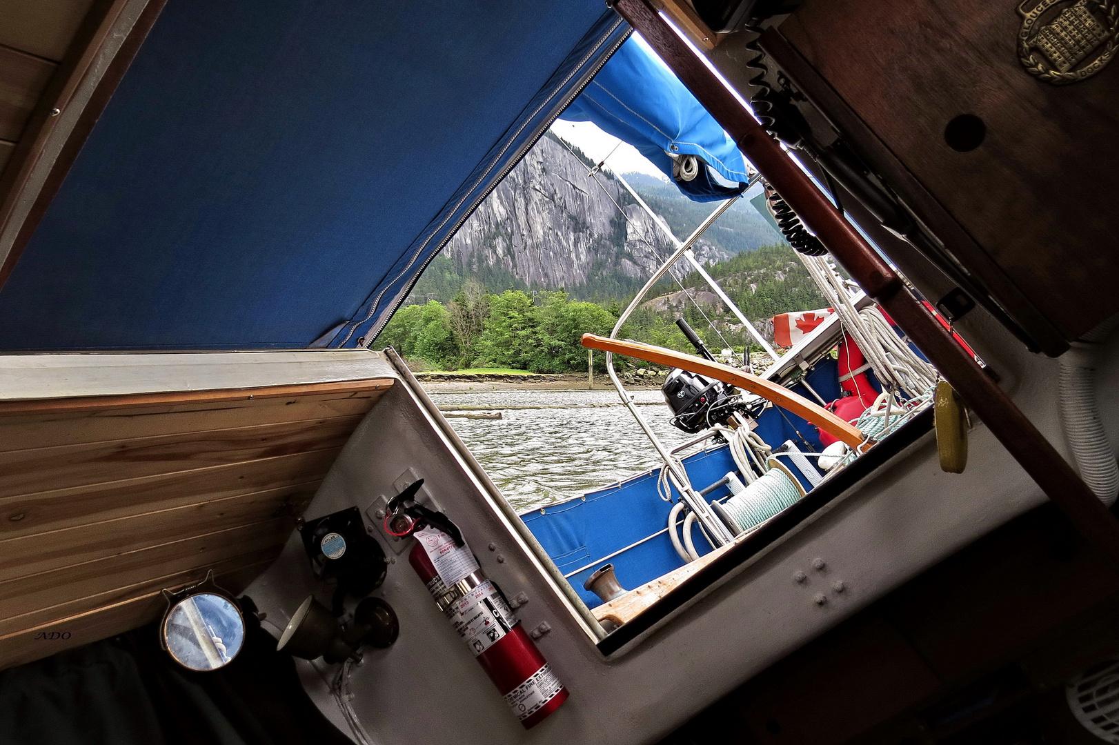 Our Sailboat and the Sandbar
